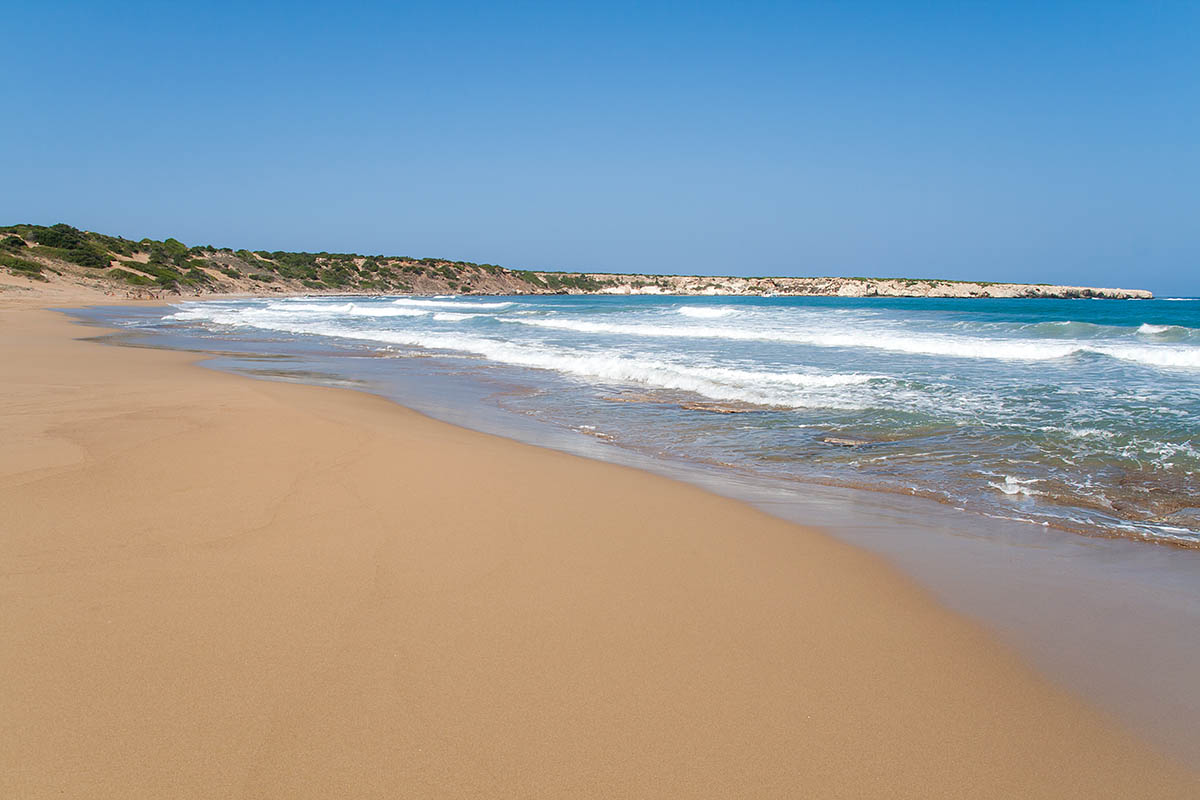lara beach best in seaside sand migliore spiaggia white yellow akamas cipro cyprus holiday vacanze sea mare Πάφος Pafos